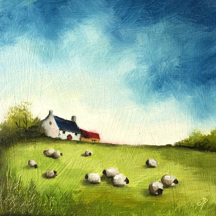 Little Cottage  with sheep - Image 0