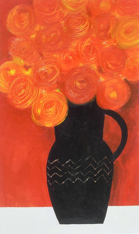 Orange Bouquet - Image 0