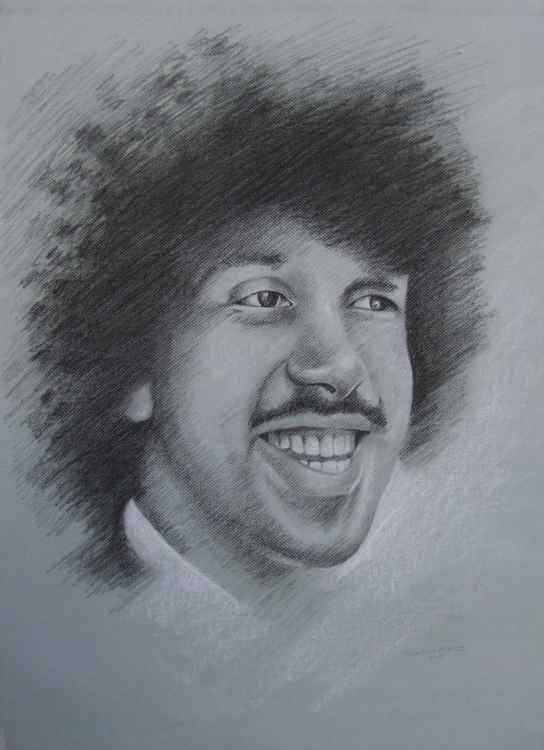 Phil Lynott in Charcoal -
