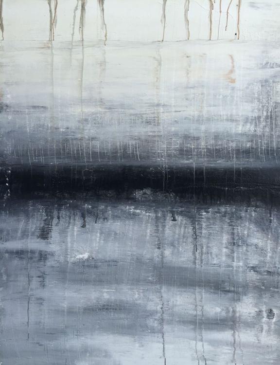 """1093 abstract sand/black/grey"" - Image 0"