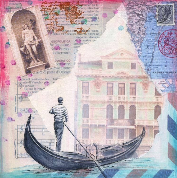Misty Venice gondola. - Image 0