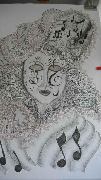 Carnival Mask -