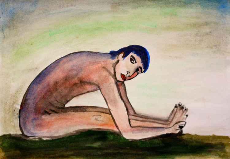 Nude boy -