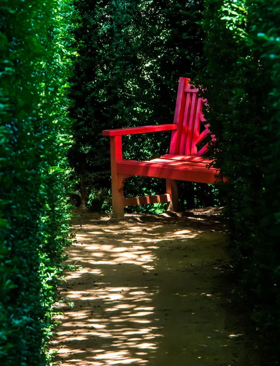 Red Bench - Image 0