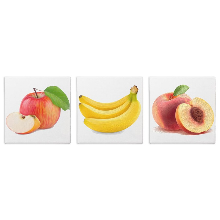 Fruit Salad | Modern Food Art, Giclée Print on Canvas - Image 0