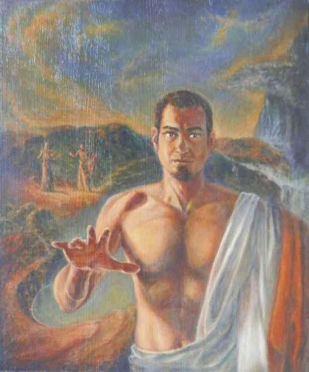 The incredulity of Saint Thomas -