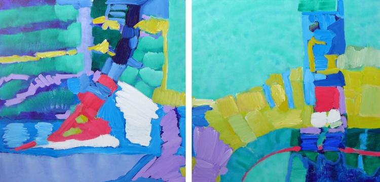 """Passages 60 x 30""""/152 x 76cm - Image 0"""