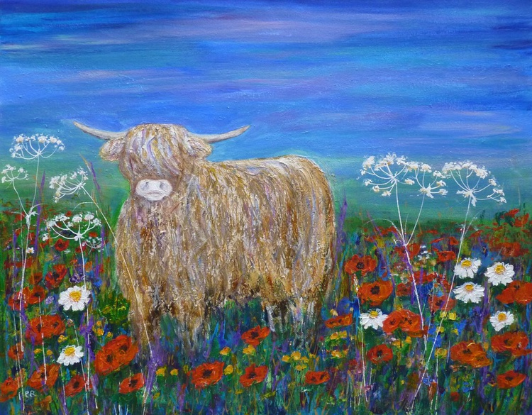 Cow in the meadow - Image 0