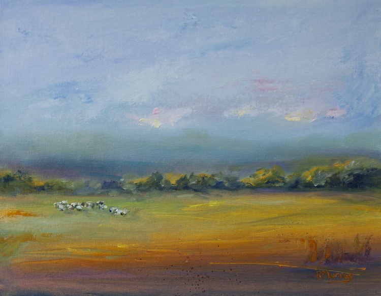 Sheep In The Meadow - Image 0