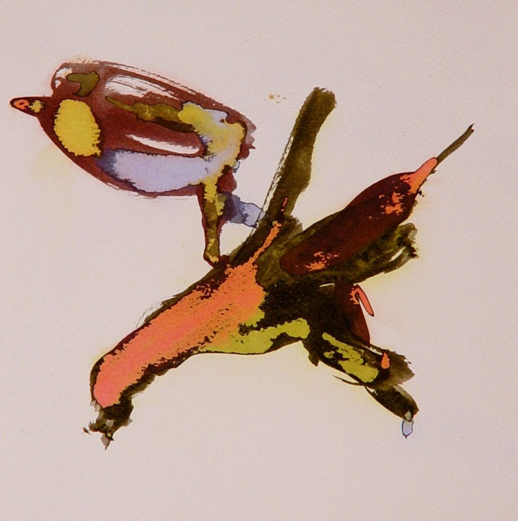 Metadrawing 18, 24x24 cm - Image 0