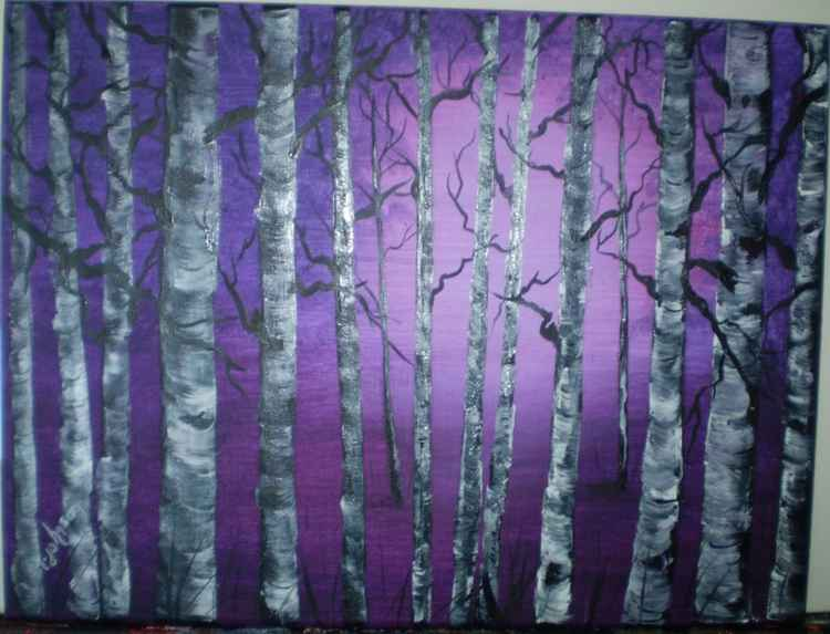 Purple Aspens