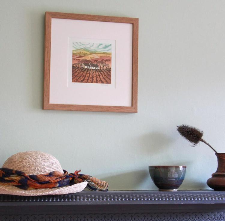 Nestled In The Landscape (framed) - Image 0