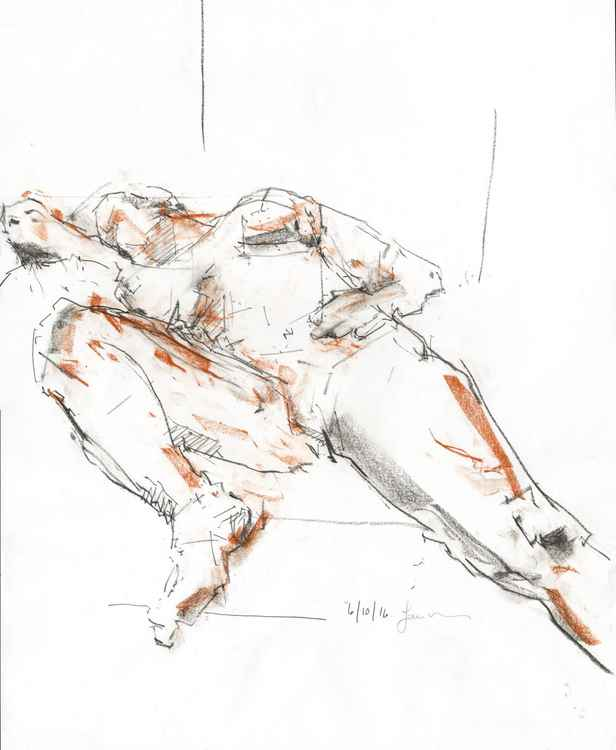 Life Drawing No 80 -
