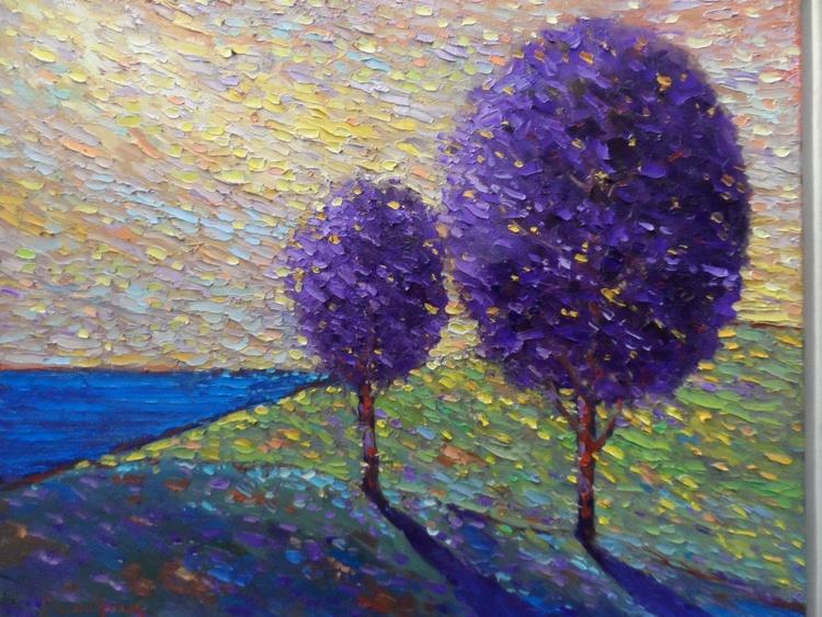 Purple Tree,, - Image 0