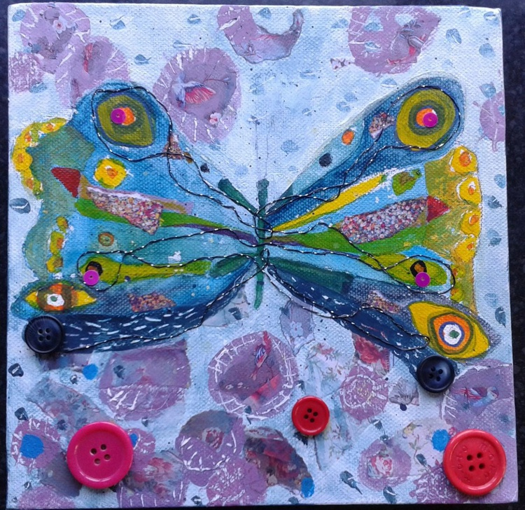 Button butterfly - Image 0