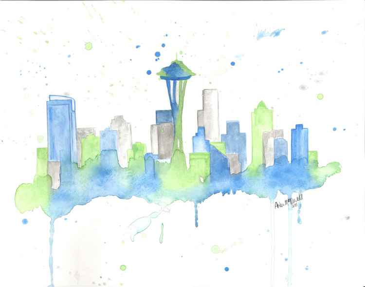 Seattle Skyline -