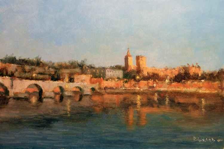 Evening at Avignon