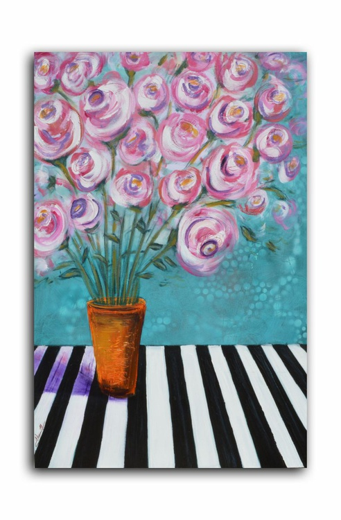 Roses and Stripes 1 - Image 0