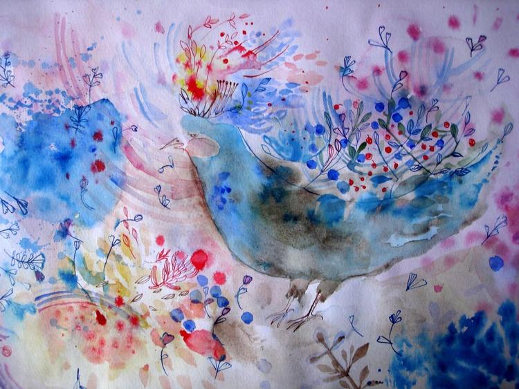 Blueberry bird - Image 0