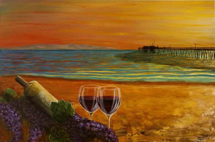 Art & Wine in Capitola -