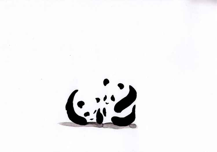Two pandas 2130B
