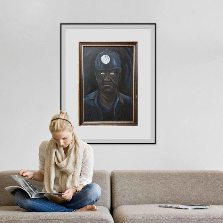 Coal Blue Eyes - (Reduced) - Image 0