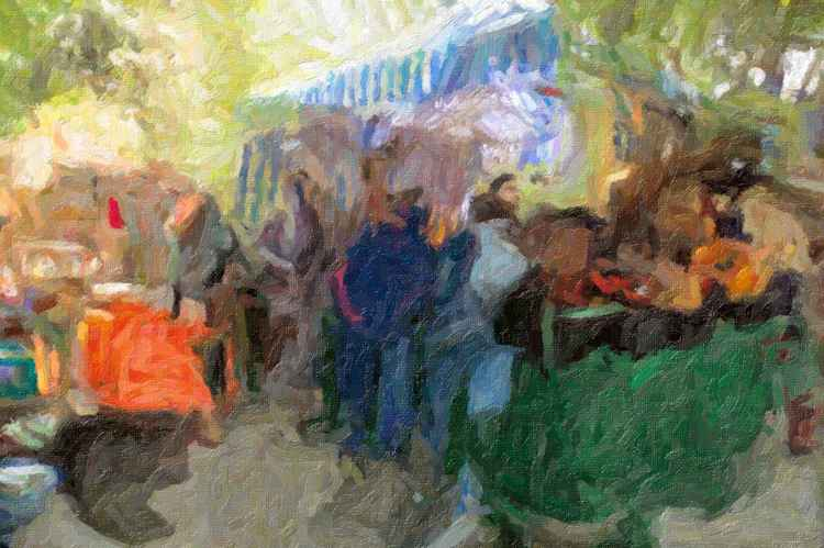 """Weekend Market"" -"