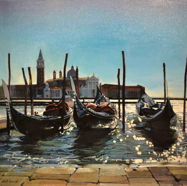 Three Gondolas -