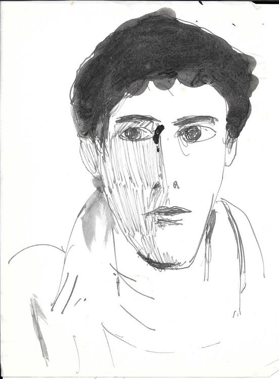 Self-portrait 8, 15x21 cm - Image 0