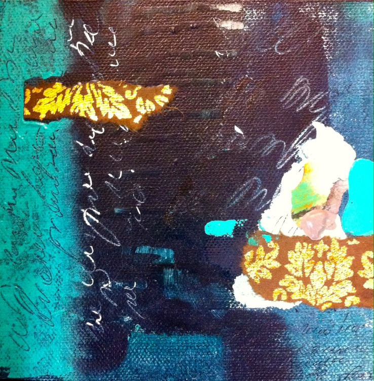 Offering 3, small abstract, gift - Image 0