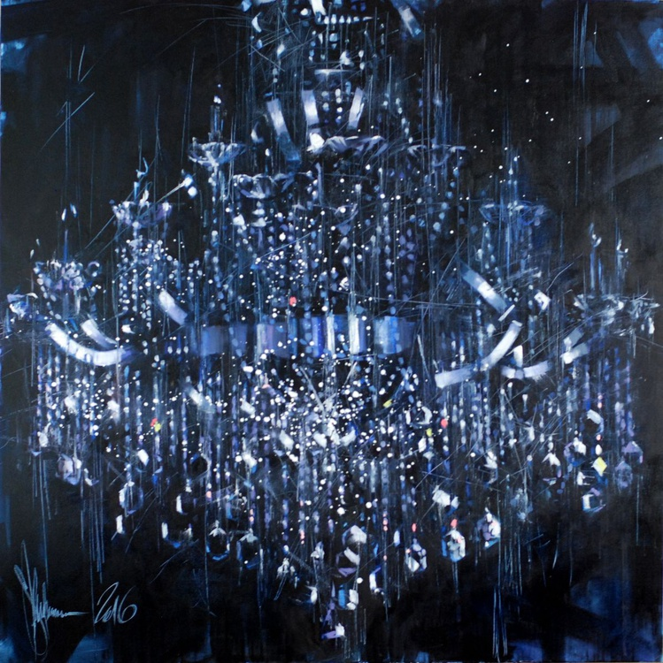 The extinguished chandelier - Image 0