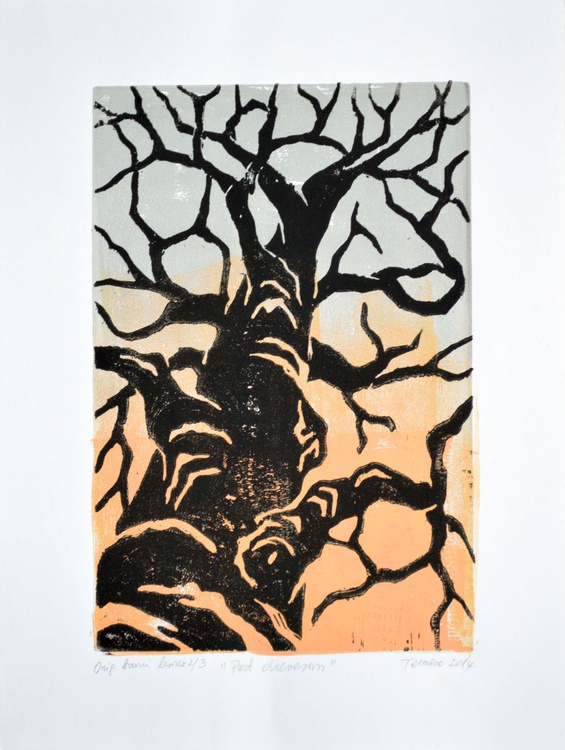 Under a tree - Image 0