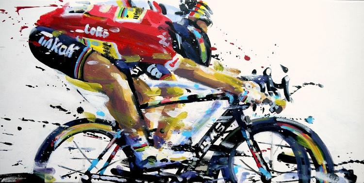 Sagan in Red - Image 0