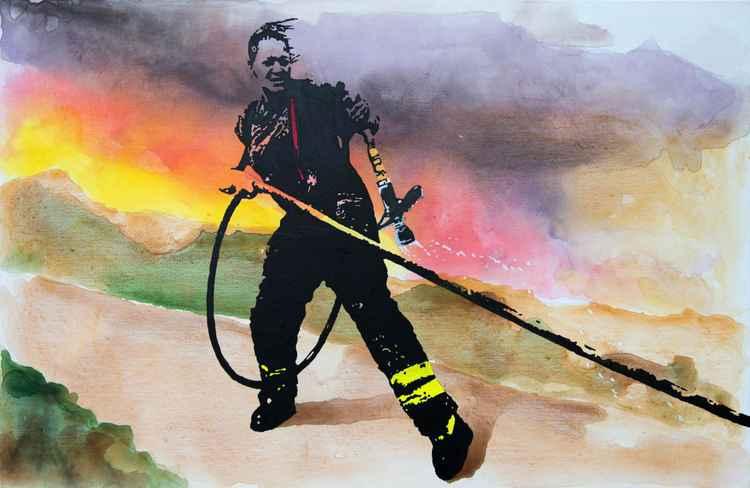 Cape Town Fire -