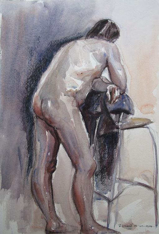 bending male nude - Image 0