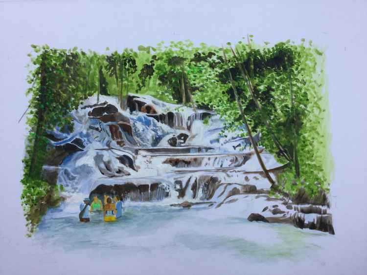Dunns river falls -
