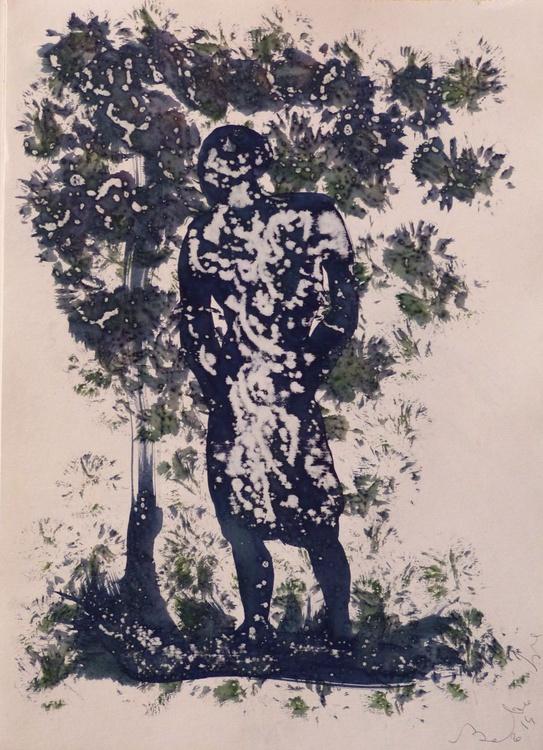 Prolegomena, Acrylic on paper #18, 29x42 cm - Image 0