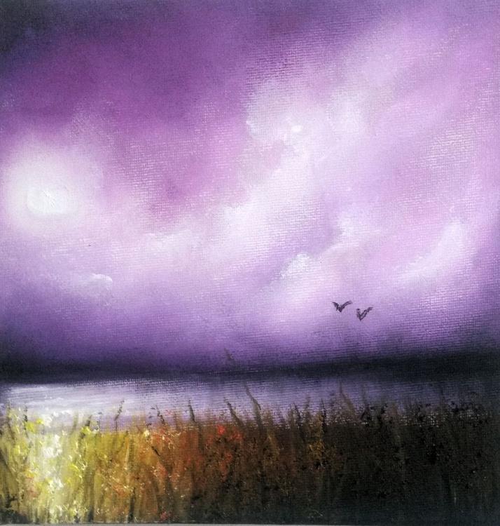 Violet lake. - Image 0