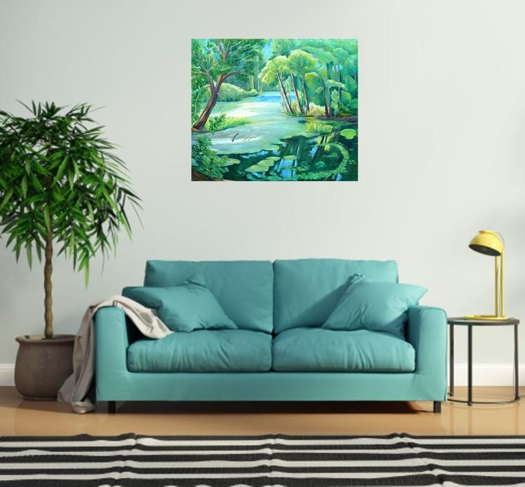 Near the pond - Image 0