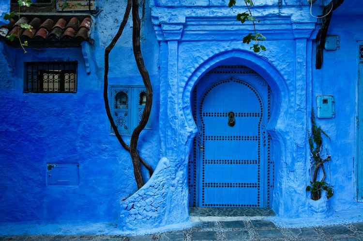 Blue House, Chefchaouen -