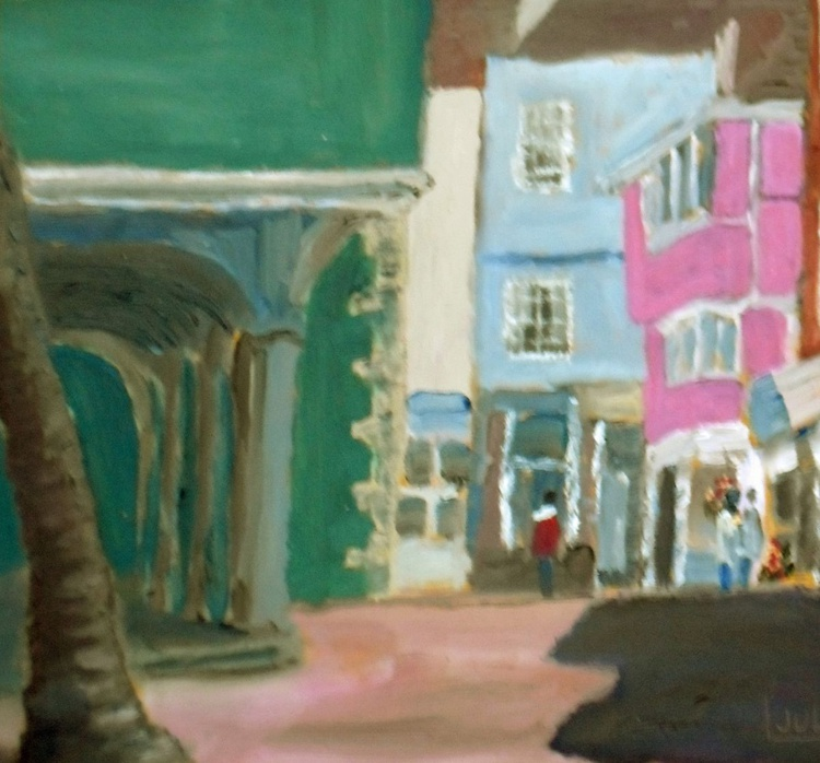 Afternoon light at Faversham - An original Oil Painting! - Image 0