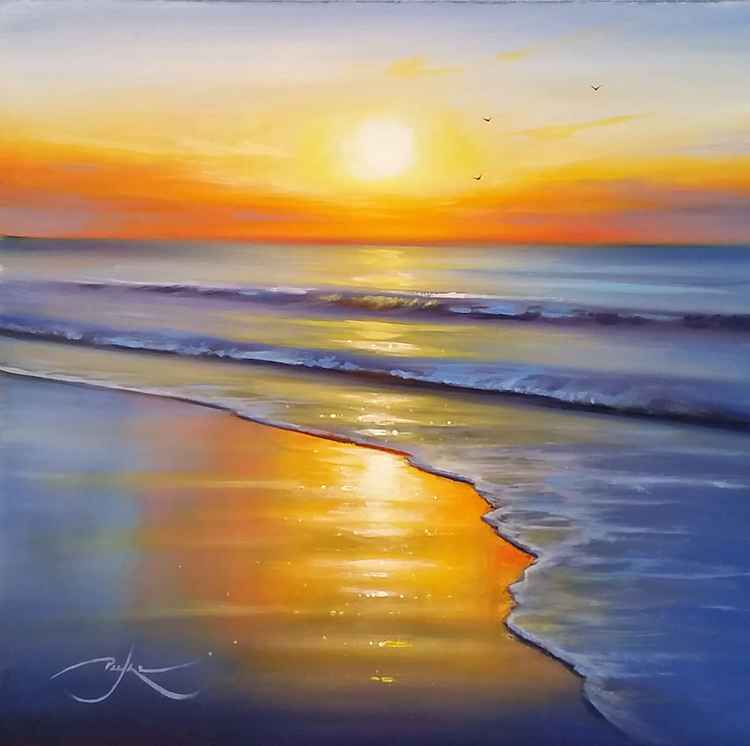 Shoreline Sunset -