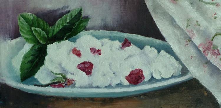 Rose petal and basil yogurt - Image 0