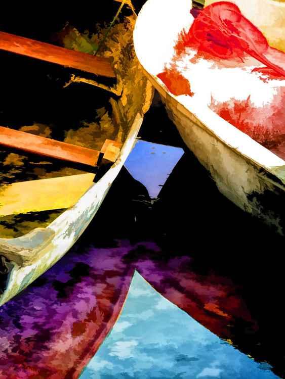 Half Sunk Boats -