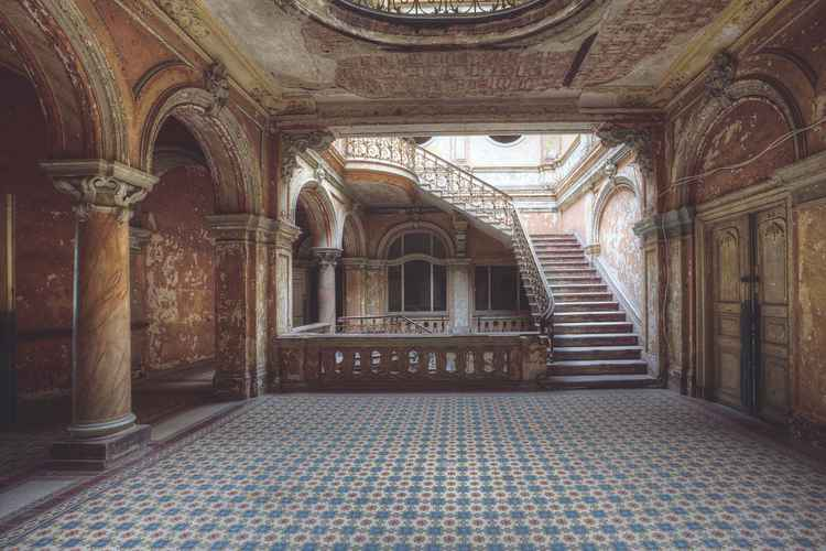 Abandoned Palatial Beauty -