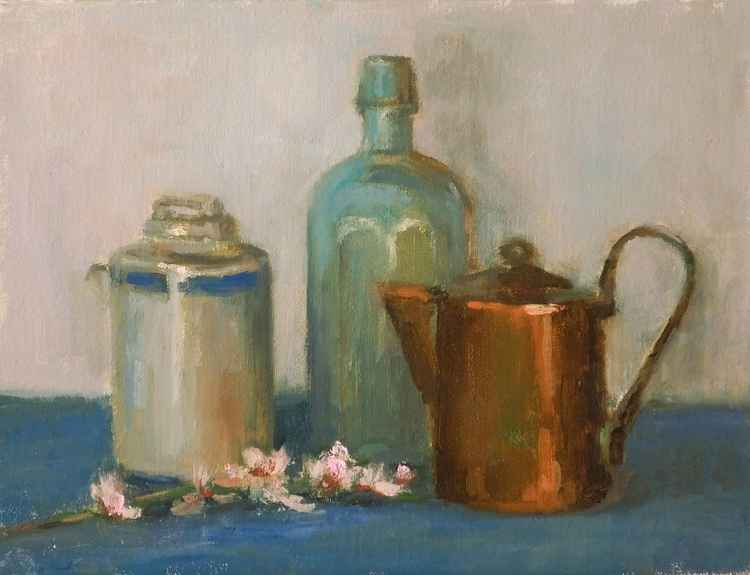 Still-life With a Pot -