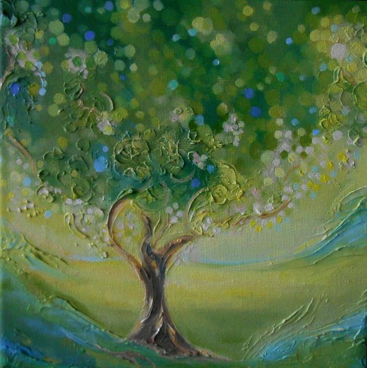 "Bioenergetic painting: ""Tree of Health and Vitality"" - Image 0"
