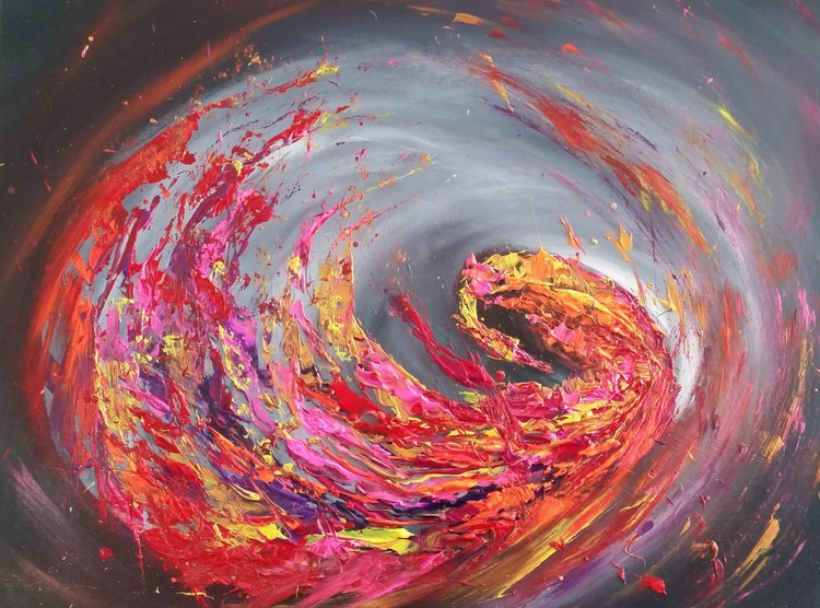 Abstract Colourful Vortex to the Soul - Image 0