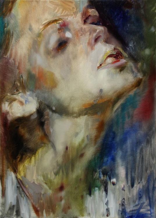 Nocturne 70 x 50 cm. - Image 0