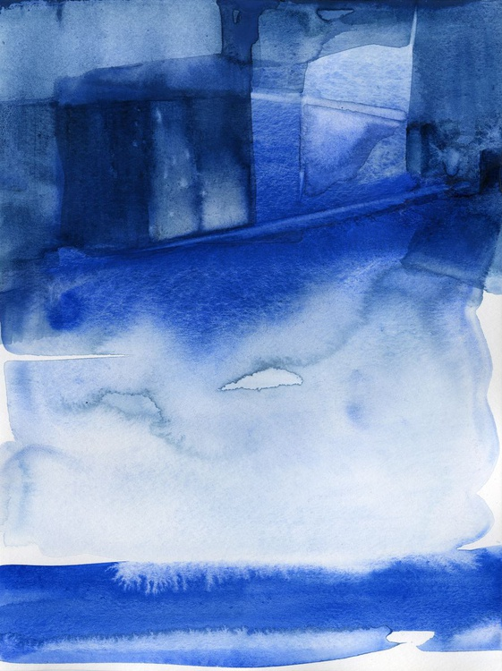 Finding Tranquility 2 - Abstract Zen Watercolor Painting - Image 0